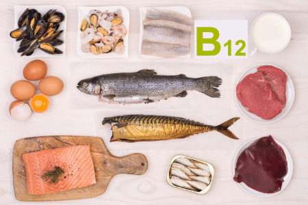 food rich in b12